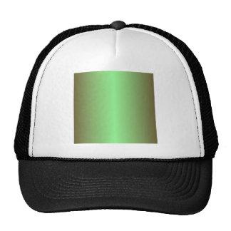Mint Green and Dark Brown Gradient Cap