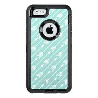 Mint Green Arrows Pattern OtterBox iPhone 6/6s Case