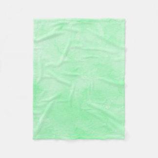 Mint Green Batik Lovely Cloudy Sky Fleece Blanket