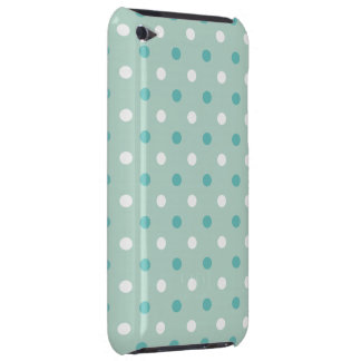 Mint green blue dots iPod touch covers