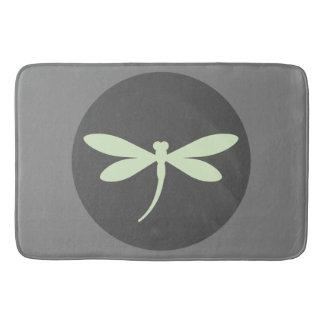 Mint Green Dragonfly Bath Mat