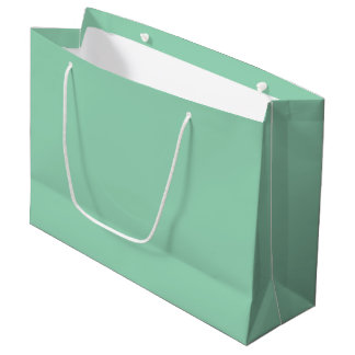 Mint Green Large Gift Bag