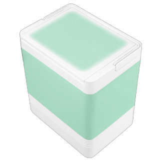 Mint Green Igloo Cooler