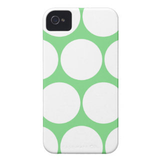 Mint Green Large Polka Dot Iphone 4/4S Case