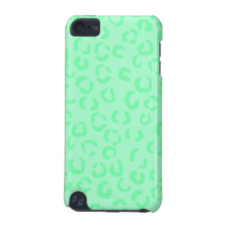 Mint Green Leopard Print Pattern. iPod Touch (5th Generation) Case