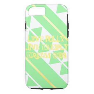 Mint Green Live Fully iPhone 7 case
