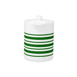 Mint Green Pinstripes