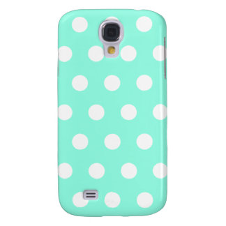 Mint Green Polka Dot HTC Vivid Case