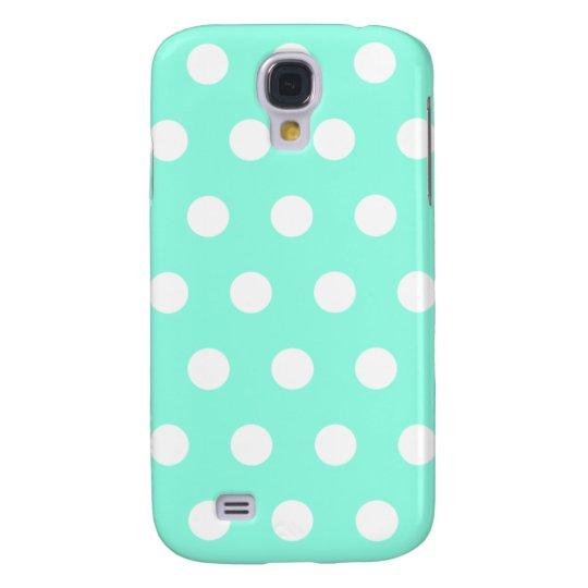 Mint Green Polka Dot HTC Vivid Case