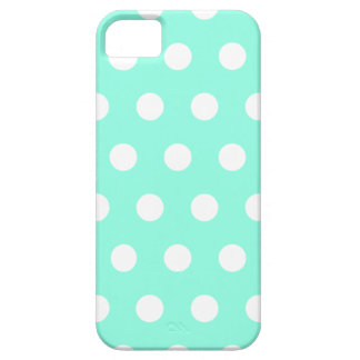 Mint Green Polka Dot iPhone 5 Case