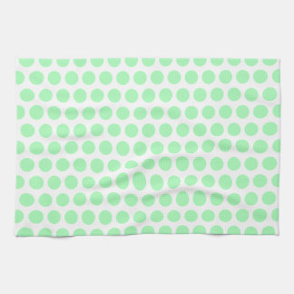 Mint Green Polka Dot Tea Towel