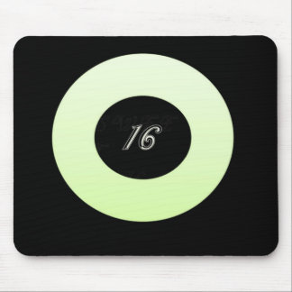Mint Green Sweet 16 Mouse Pad