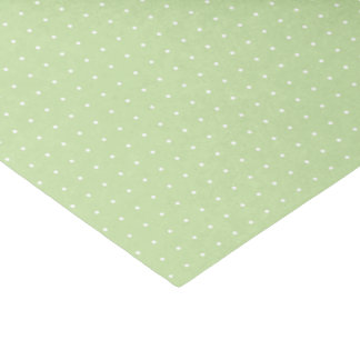 Mint Green Swiss Dot Tissue Paper