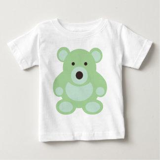 Mint Green Teddy Bear Baby T-Shirt