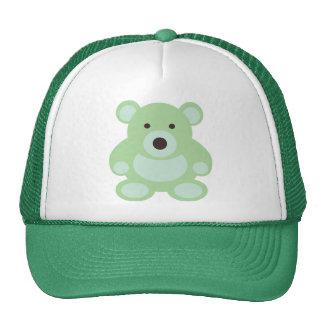 Mint Green Teddy Bear Hats
