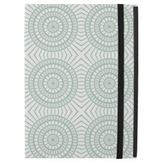 "Mint Green Tiled Circles iPad Pro 12.9"" Case"