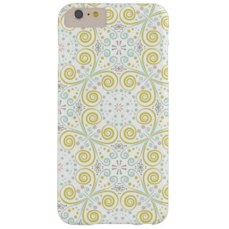 Mint & Green Whimsical Pattern iPhone 6/6s case