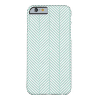 Mint Herringbone Barely There iPhone 6 Case