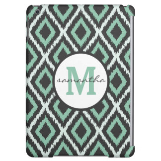 Mint Ikat Monogram