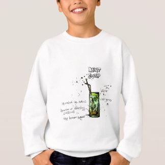 Mint Julep Cocktail Recipe Sweatshirt