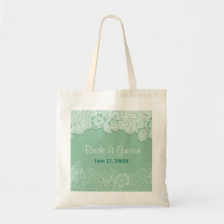 Mint Lace Tote - Customize