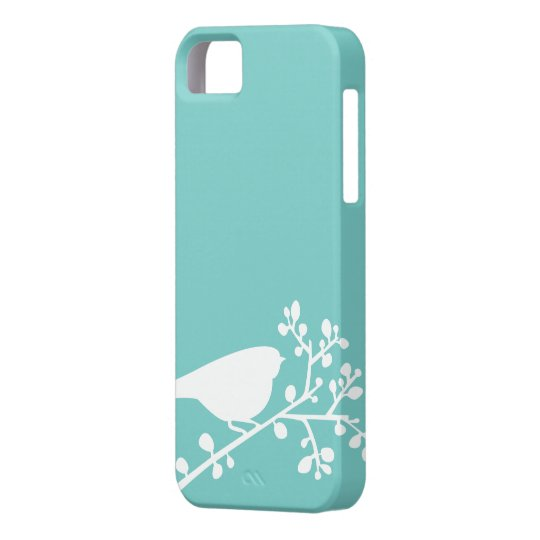 Mint Mod Birds and Berries {pick your colour} iPhone 5 Cases