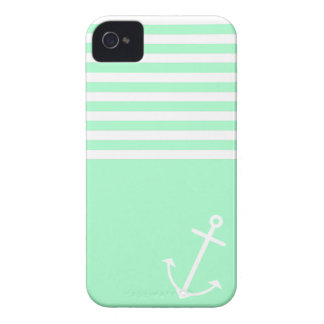 Mint Nautical iPhone 4 Case