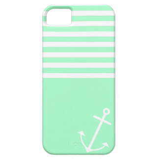 Mint Nautical iPhone 5 Cover