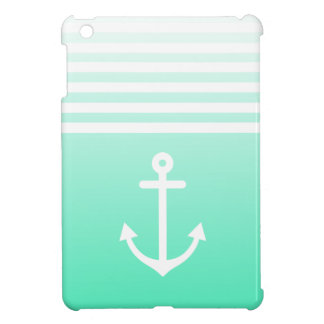 Mint Ombre Nautical Case For The iPad Mini