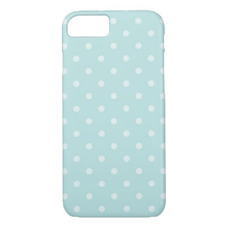 Mint Polka Dot iPhone 7 Case