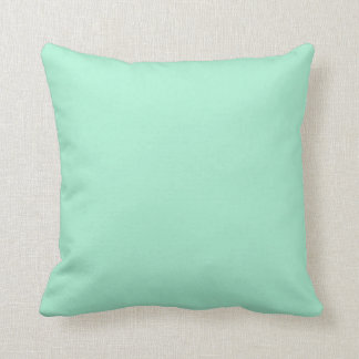 Mint Solid Color Throw Cushions
