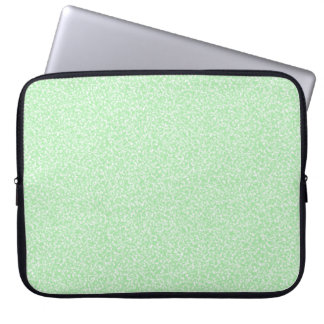 Mint Speckled Laptop Sleeve