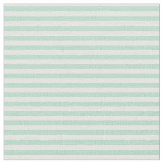 Mint stripe fabric