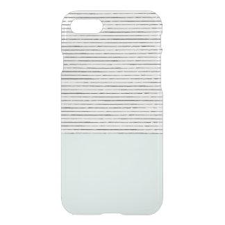 Mint Striped Iphone Case