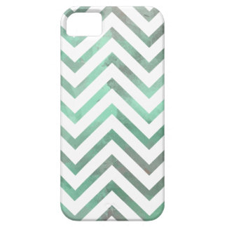 Mint White Chevron iPhone 5 Case