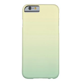 Mint Yellow Ombre Barely There iPhone 6 Case