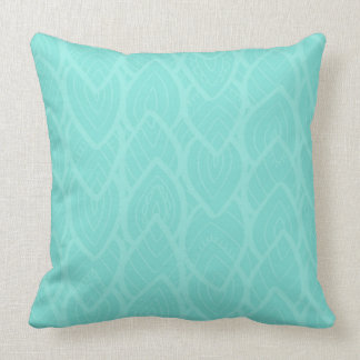 MINTLEAVES THROW PILLOW