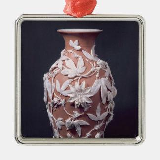 Minton Parian Ware vase, 1894 Christmas Ornament