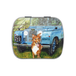 Mints: Blue Truck Jelly Belly Candy Tins