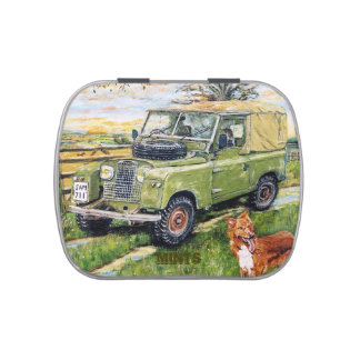 Mints: Green Truck Candy Tin