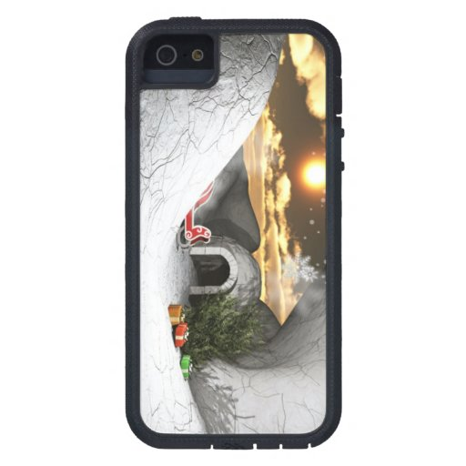 Minty Cool Christmas iPhone 5/5S Covers