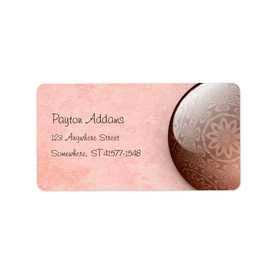 Minty Jewel - Address Avery Label