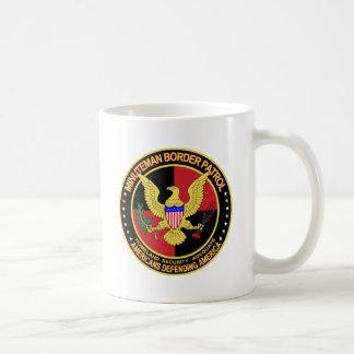 Minuteman Border Patrol  (v157-9) Basic White Mug
