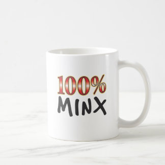Minx 100 Percent Coffee Mugs