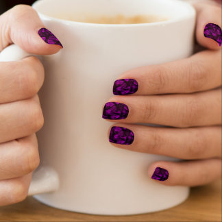 Minx Nails Fractal Art Minx Nail Art