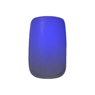Minx Single Design per Hand blue Minx Nail Art