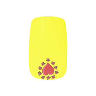 Minx Single Design per Hand by red heart Minx Nail Art
