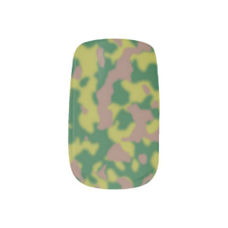 Minx Single Design per Hand camo Minx Nail Art