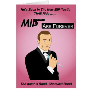 MIPs are forever Greetings card