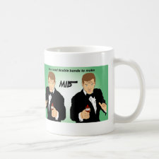 Double Bonds spoof movie poster mug